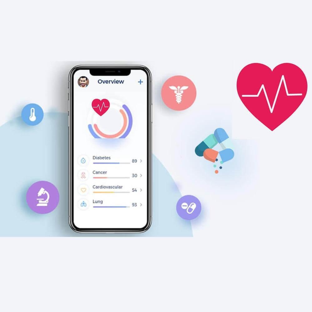 ساخت برنامه موبایل پزشکی