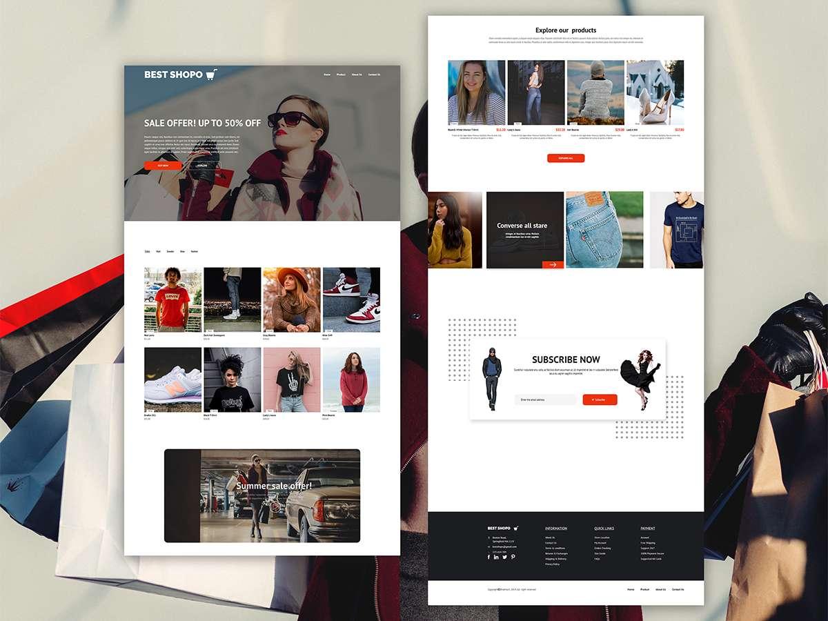 مزایای طراحی سایت فروشگاهی